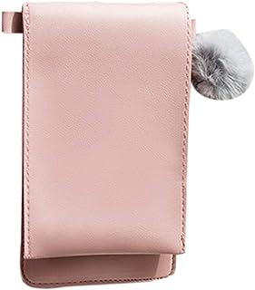 Wultia - Bags for Women 2019 Women's Mobile Phone Bag Vertical Cover Type Hairball Purse Crossbody Bag Bolsa Feminina *0.92 Pink