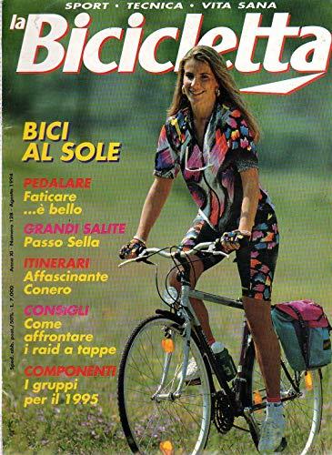 La Bicicletta 128 agosto 1994 Legnano Mizar-Giant Cadex CF-R1-Modolo Twin 777