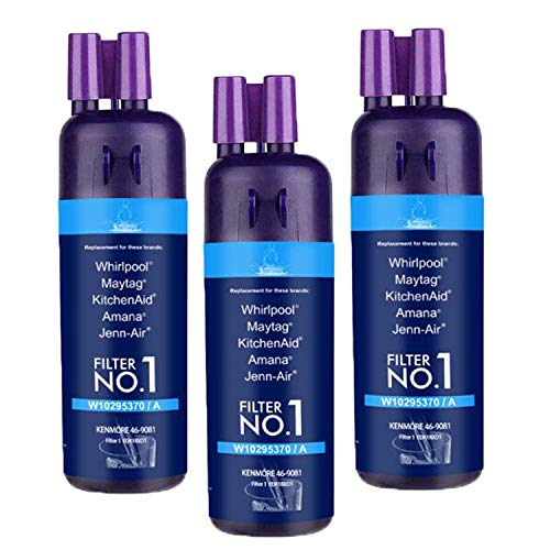 Refrigerator Water Filter Replacement ,Compatible with Kenmore 9930 9081 469081 469930 Water Filter 1, purple(3 packs)