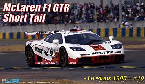 1/24 Rial Serie No.26 coche de deportes de McLaren F1 GTR cola corta Le Mans 1995 # 49 West FM