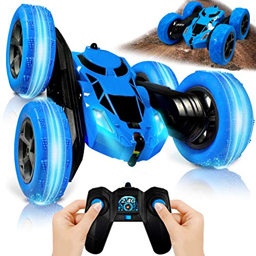 Remote Control Car (UK COMPANY) Kids Toys Boys Cars Stunt Fun For 9 Year...