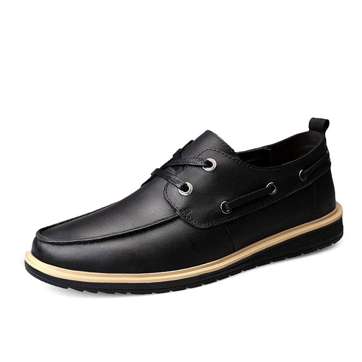 シェードキー超えて男性用革靴 男性用 革靴 革 ハゲ帯 男性用 ビジネス カジュアル 靴 男性用 革靴 丸い靴
