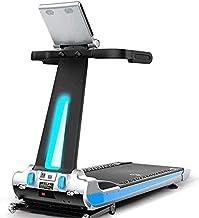 JGWHW Treadmill Weight Loss Mute Shock-Absorbing Indoor Electric Mini Smart Folding Treadmill Treadmill,Blue Screen, Home ...