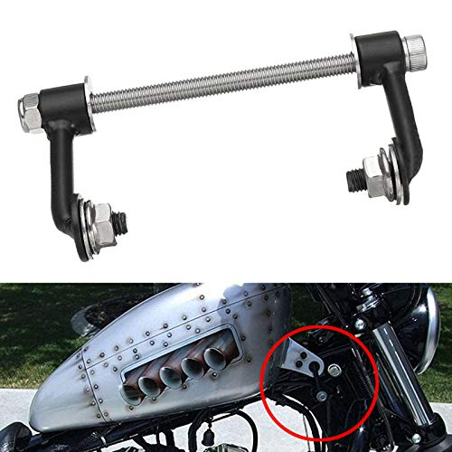for 1995-up Harley Sportster Irons Nightsters XL 883 1200 48 72, Rolled Steel 2' Gas Tank Lift Kit