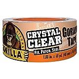 ゴリラ(Gorilla) 強力補修テープ クリスタルクリア (透明, 48mm幅x16.5m) [並行輸入品]