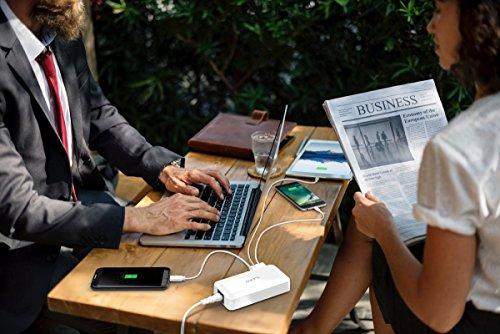 iNepo USB Ladegerät 8 Port Multi USB Port Ladegerät mit LED-Anzeige 40W / 8A Eingang 100-240V für iPhone,iPad,Tablets,Headphones, Android Smart Phone und mehr USB Netzteil Gerät【2 Jahre Garantie】