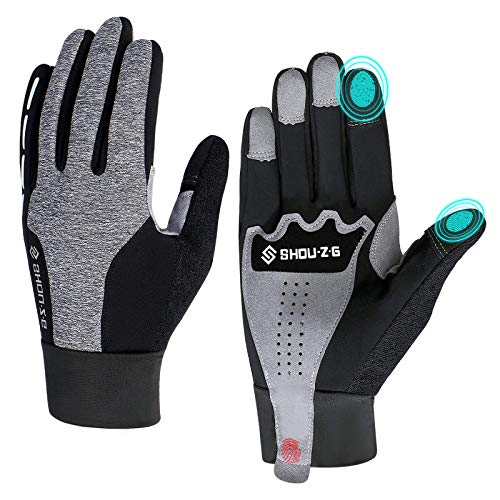 Fahrradhandschuhe Sport Winddichte Handschuhe Touchscreen Winterhandschuhe Herren Damen Winter Warme Handschuhe f¨¹r Radfahren Laufen & Reiten