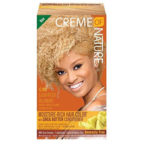 Creme of Nature Couleur des cheveux de l'humidité Rich Kit, Blonde léger