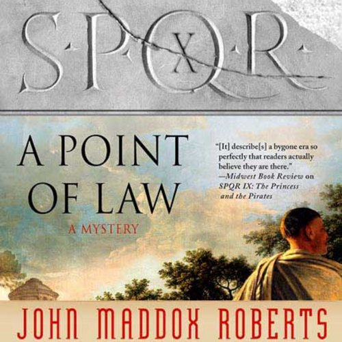 SPQR X: A Point of Law audiobook cover art