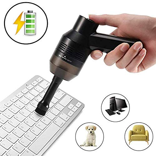 Keyboard Cleaner, Keyboard Vacuum,Rechargeable Mini Cordless USB Cleaner,Used to Clean Narrow Gaps Such as Dust,Hair,Bread Crumbs,Computer Keyboards,Cars,Sofas,Desks and Pet Houses