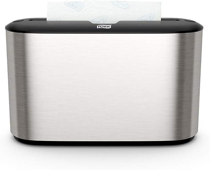 59 opinioni per Tork 460005 Xpress Dispenser da banco per Asciugamani intercalati, sistema H2,