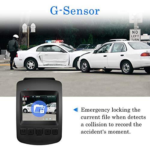 【2020 New Version】 Dash Cam, CHORTAU Dash Cam WiFi Sony Sensor Full HD 1080P, Dashboard Camera for Car 2 Inch Screen 170° Wide Angle, Car Camera with Loop Recording, Parking Monitor, Motion Detection