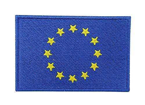 Europa Flagge Patch mit Klett Rückseite | Europaflagge Klettpatches, Europe Flag Patches, EU Fahne Klettpatch Finally Home