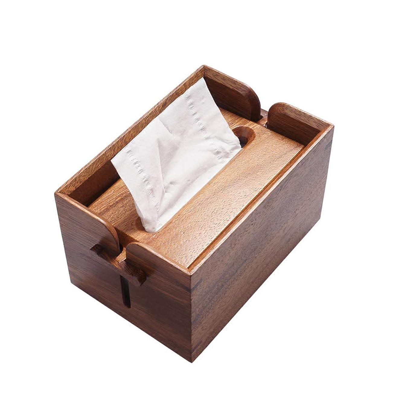 クールレイ忠実GWM クリエイティブ木製ティッシュボックスティッシュディスペンサー、リビングルームコーヒーテーブルレストランティーハウス家庭用ナプキンホルダー