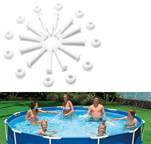 HIQE-FL Intex Pool Rechteckig,Intex Pool Ersatzteile Frame,Gabelbolzen,Metallrahmenpool,Gelenk Pins,Joint Pins,Stift Splint Pin,Rectangular Pool,Round Pool