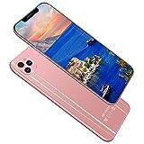 MSM 4G Smartphone Sim Gratis,I12 PRO Android Telefono Cellulare Sbloccato,8GB+128GB,Tripla Fotocamera,Slot per Carte Triple,ID Faccia Impronte Digitali Sbloccato