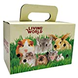 Living World Pet Carrier Cardboard Box