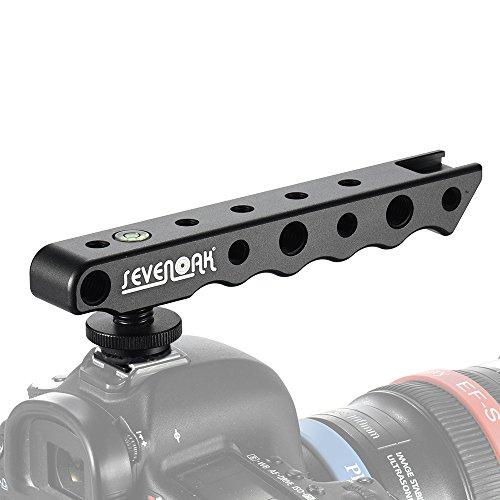 Andoer Sevenoak SK-H01 Handheld Video Stabilizzatore Maniglia della Telecamera Hot-shoe Supporto della Staffa di Supporto per la Macchina Fotografica