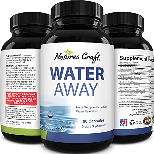 Natures Craft Water Away (90 Servings)