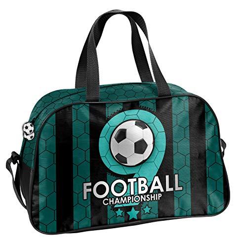 Ragusa-Trade voetbal - Soccer sporttas reistas met leuk voetmallmotief voor jongens en meisjes, 40 x 25 x 13 cm