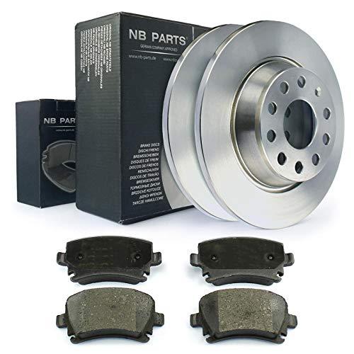 Bremsen/Bremsscheiben + Bremsbeläge hinten NB PARTS GERMANY 10041419