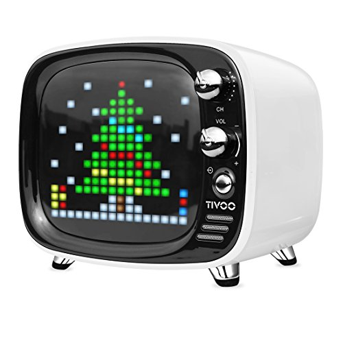 Divoom Tivoo White Bluetoothスピーカー【日本正規代理店品】白 ホワイト ブルートゥース ゲームも楽しめるスピーカー 4580395343761 4580395343761