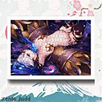Xenia Judd Fate/Grand Order フェイト グランド オーダー FGO カーマ 木製 パズル 300/500/1000/1500のパズルのピース フォトフレーム付属 アニメ 漫画 ジグソーパズル 知育玩具 減圧 大人 子供 カスタム可能【300pcs】【ホワイトのフォトフレーム】