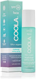 COOLA Makeup Setting Spray, Skin Care & Makeup Protection made with Organic Cucumber & Aloe Vera, Broad Spectrum SPF 30, A...