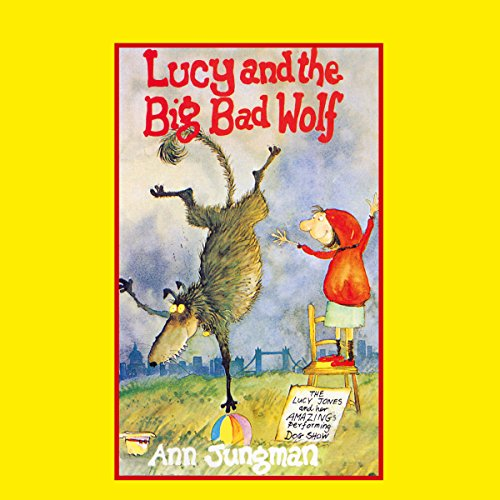 Lucy and the Big Bad Wolf audiobook cover art