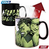 ABYstyle - MARVEL - Tazza cambia colore con calore - 460 ml - 'HULK SMASH'
