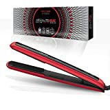 AbsoluteHeat Pro Ion Digital Series Flat Iron (RED)