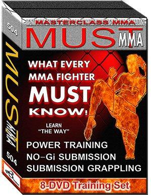 Must MMA Max 45% OFF 8 Popularity DVD Set Training 2013