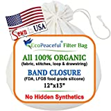 EcoPeaceful 12'x13' 100% Organic Cotton Cold...