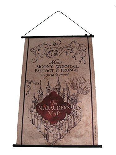Bannière carte du Maraudeur - Harry Potter