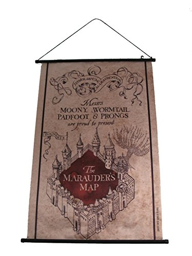 Bannière carte du Maraudeur - Harry Potter