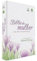 Bíblia da mulher segundo o coração de Deus - Tulipa roxa