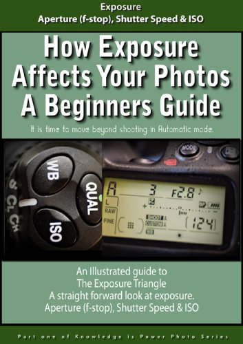 How Exposure Affects Your Photos a Beginners Guide (Knowledge is Power Photo Series Book 1)