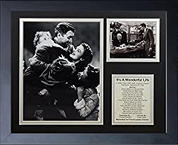 Image: Legends Never Die | It's A Wonderful Life Framed Photo Collage | 11 by 14-Inch