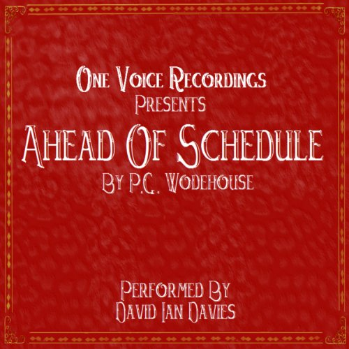 Ahead Of Schedule cover art