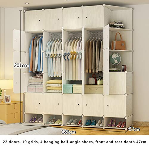 Read About Ultra Time Empty Wardrobe Clothes Portable Wardrobe Closet Modular Storage Organizer Spac...