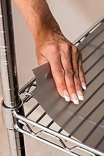Set of 3 Shelf Liners for Wire Shelf Liner, Fits Sandusky Wire Shelves - Premium Quality (Graphite, 14 x 24)