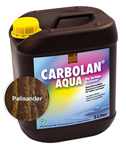 Carbolan Aqua Holzlasur, 5L (Palisander)
