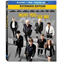 Now You See Me (Blu-ray + DVD + Digital)