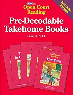 Pre-Decodable Takehome Books: Level A, Set 1 (Open Court Reading)
