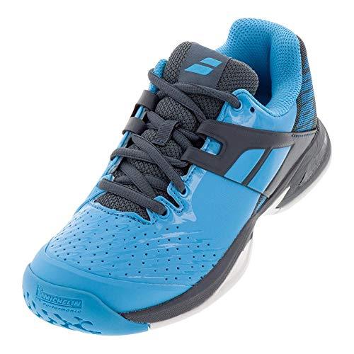 Babolat Unisex Propulse AC JUNIOR Tennisschuhe, Blue/Grey, 36 EU