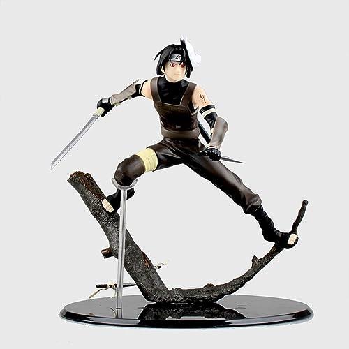 FKYGDQ Anime Naruto Jeu Personnage modèle Statue Hauteur 21.5cm Jouet décorations Cadeaux Objets de Collection Cadeaux d'anniversaire Statue de Jouet
