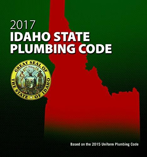 2017 Idaho State Plumbing Code with Tabs