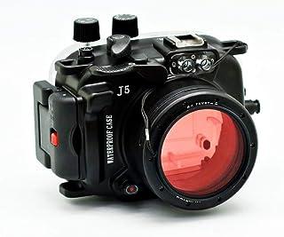 Sea frogs J5 40M/130フィートカメラ用 水中ハウジングケース Nikon1 J5 10-30mmレンズ用