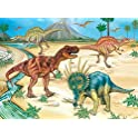 NEILDEN Dinosaur 100 Piece Jigsaw Puzzle for Kids Ages 4-8