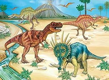 NEILDEN Dinosaur 100 Piece Jigsaw Puzzle for Kids Ages 4-8